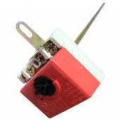 45cm thermostat with red shaft