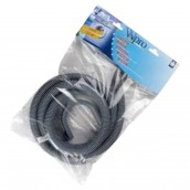 Drain hose 2.50M 19/19 with elbow