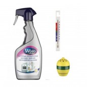 Kit spray nettoyant surfaces alimentaires + thermometre + absorbeur d'odeurs