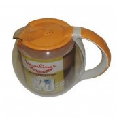 Cocoon Solea coffee pot with yellow lid