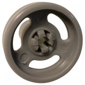 Bottom rack wheel